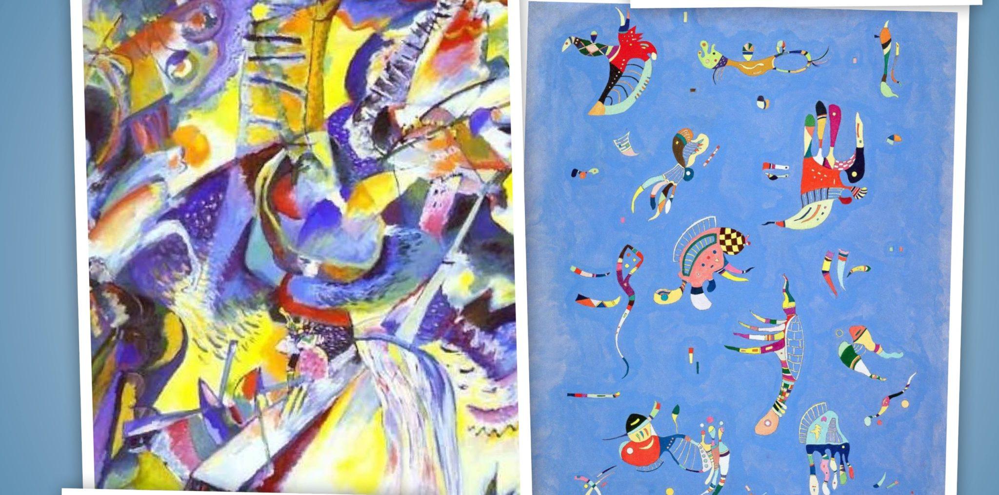 Kandinsky e la vita nel colore