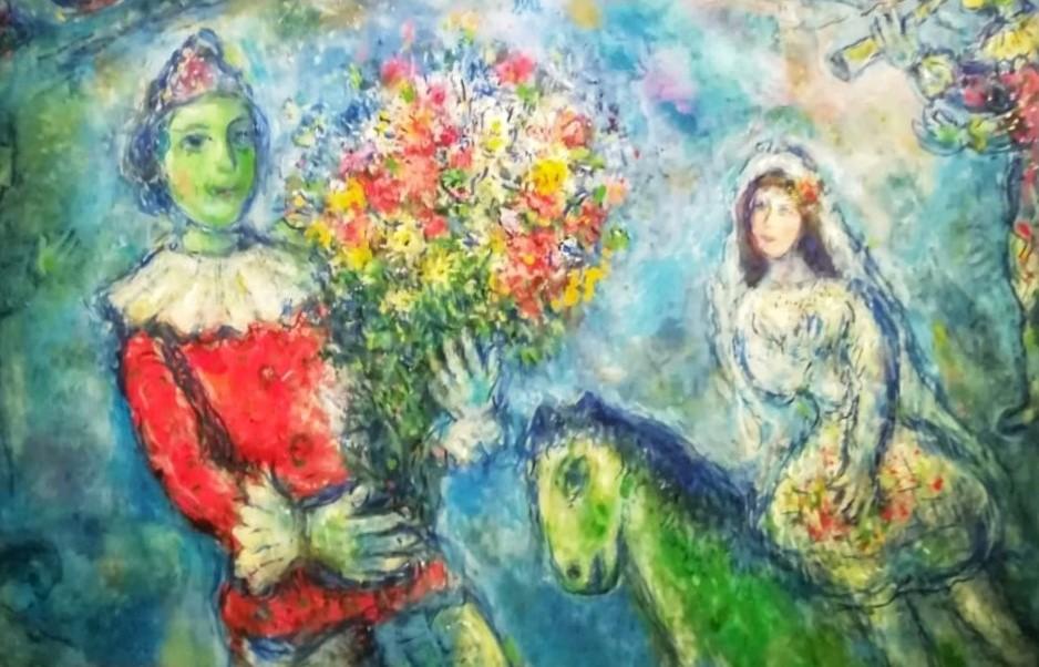 """Chagall, il poeta dell'arte con """"Sogno d'amore"""""""