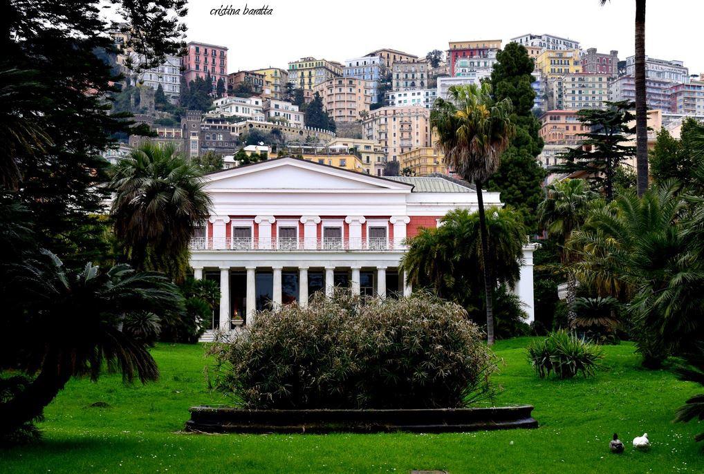 L'incanto di Villa Pignatelli